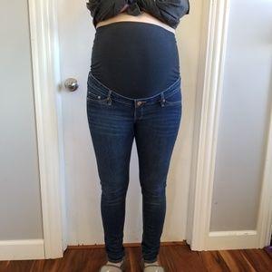 H&M Jeans - H&M Maternity Skinny Jeans Fit Snug 8 high rib
